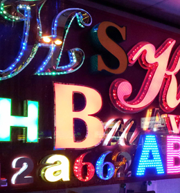 HSHB 3D LED Signs and Designs