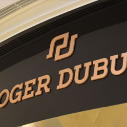 Roger Dubu Outdoor 3D Signboard Making