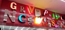 GRVNC LED Signage Designs and Lights