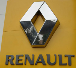 Renault 3D LED Display Signs