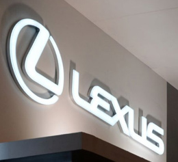 Lexus LED Display Signboard
