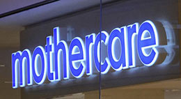 MotherCare 3D LED Message Signs